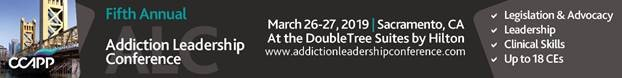 Fifth Annual Addiction Leadership Conference